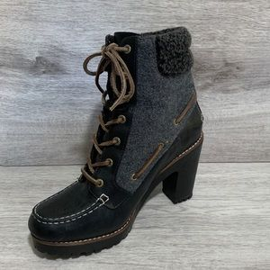 Sperry Top-Sider 'Shearling Trinity' Ankle Boot